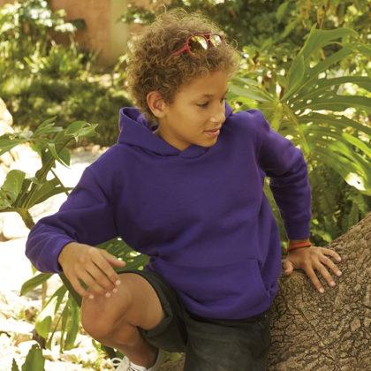 Children Fruit of the Loom Hoodies