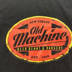 Old Machine - custom logo