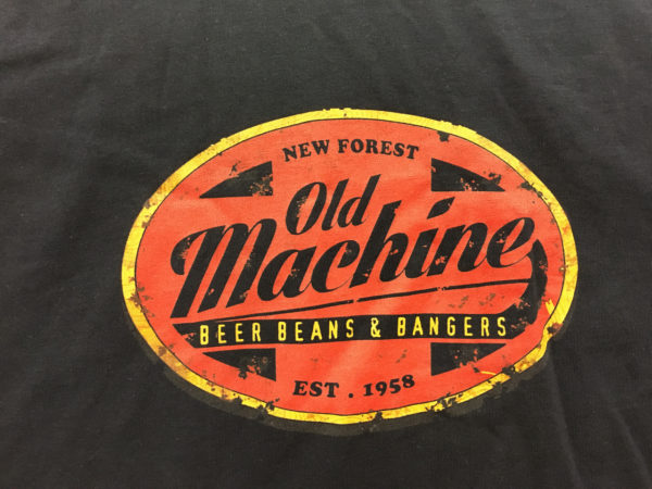 Old Machine - custom logo