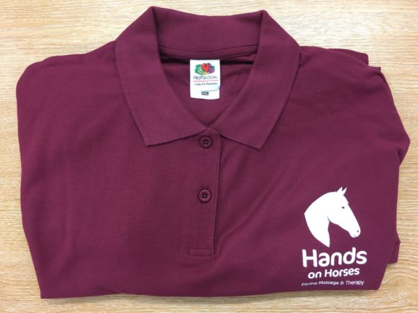 Hands on Horses Polo Shirt