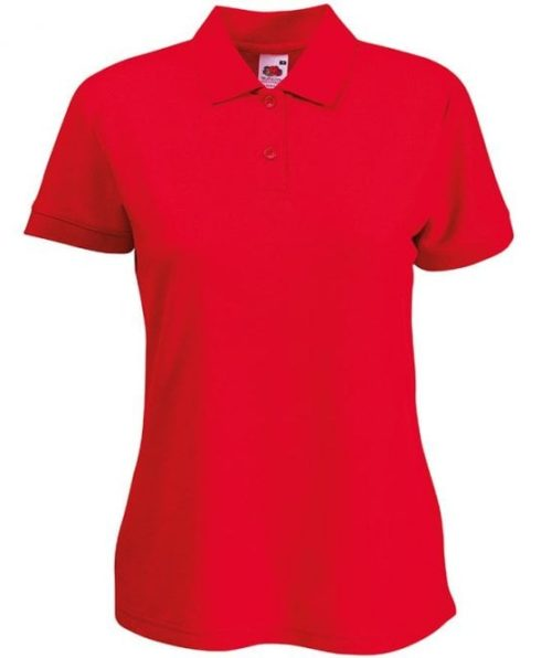 FOTL Ladies Polo Red